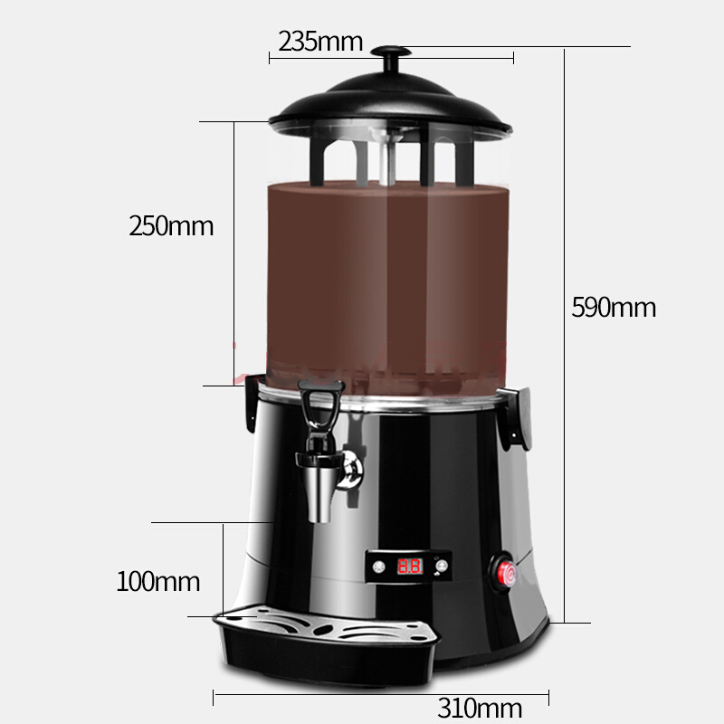 2020 New Design Chocolate Milk Drinks Warming Machine Juice Dispenser Hot selling