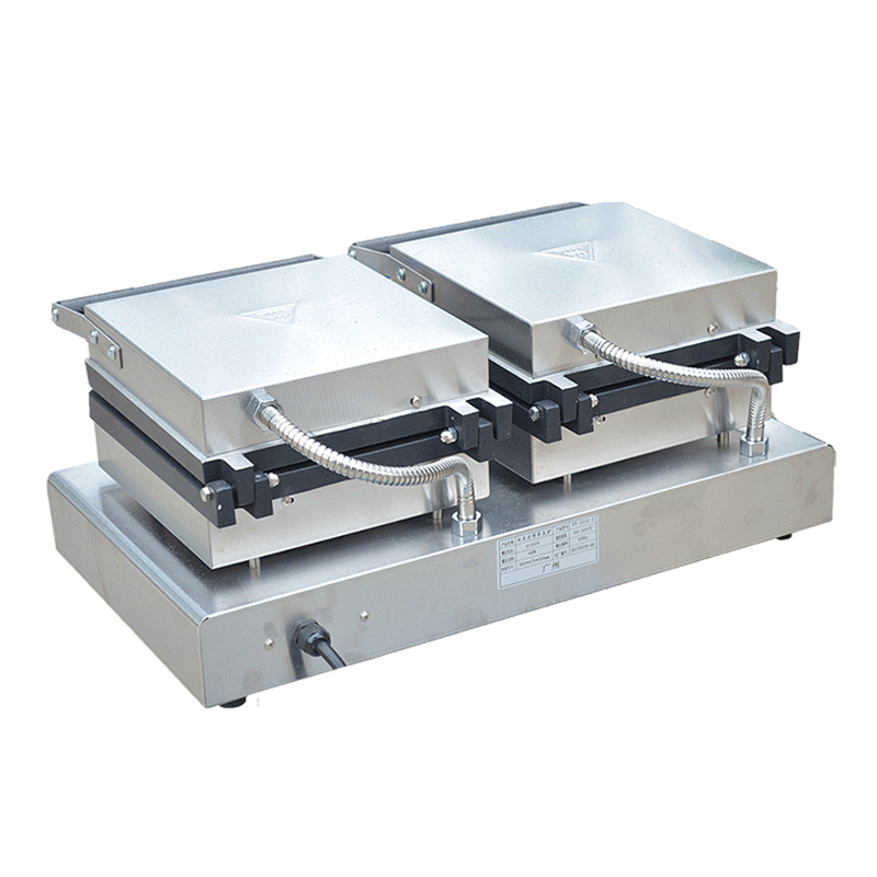 Double Squares Rectangle Waffle Baker Rectangle Waffle Maker Machine