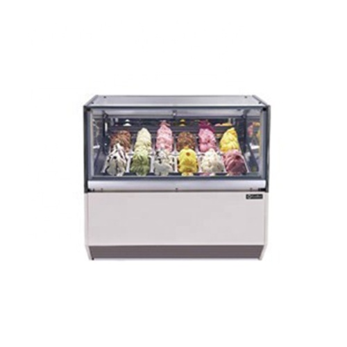 IS-12 High Quality Ice Cream Modern Shot Glass Used Display Cabinet for CE