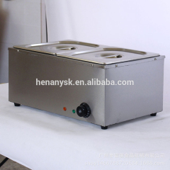 2 Pan Electric Bain Marie Food Warmer Counter Top Soup Warmer Bain Marie Electric Buffet Snack Equipment