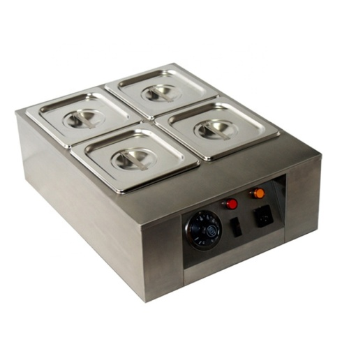 4 Stove Commercial Chocolate Stove Electric Party DIY Chocolate Melting Machine