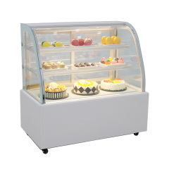 Various Specifications Of Commercial Cake Cabinet Cooked Food Fruit Beverage Refrigerator Dessert Display Cabinet