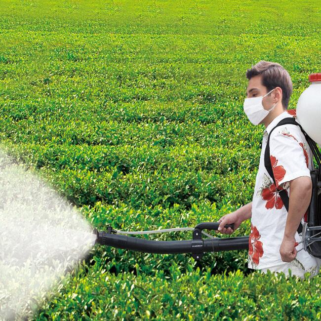 Agricultural 14L  Pulse 12m Gunshot 7500rpm Flow Duster Gasoline Sprayer Power Dust Sprayer Fog Machine