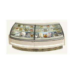 IS-45 New Style Durable Cheap Acrylic Ice Cream Cone Rotating Display Case for Sale