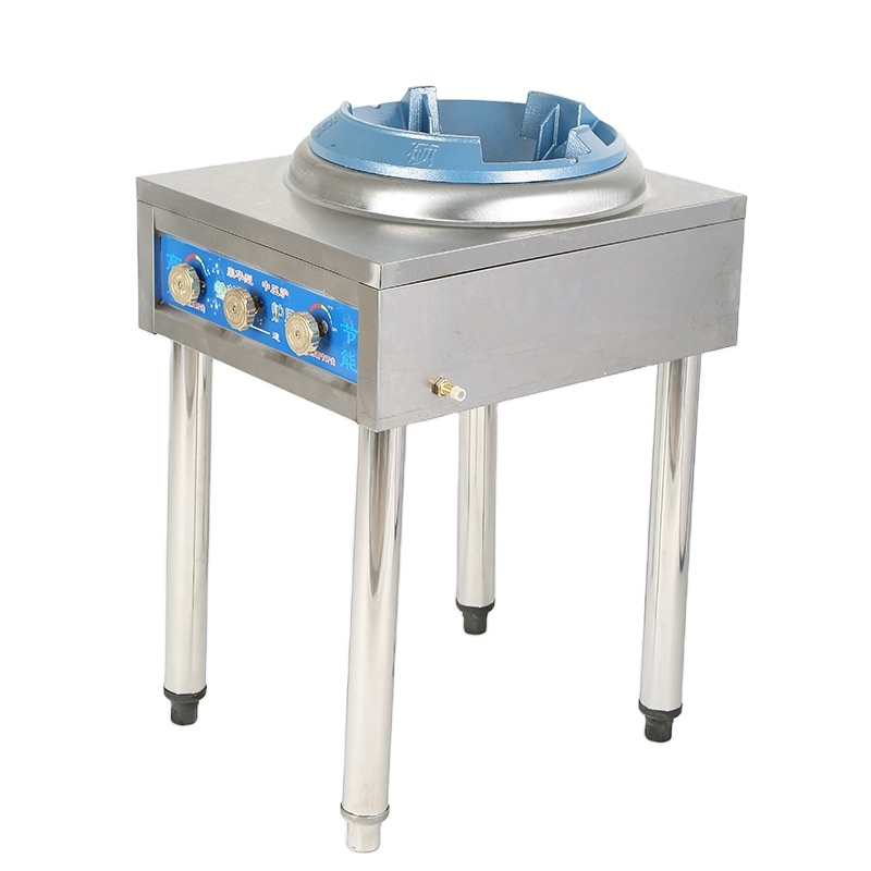 35-40kw Portable Wok Cooker LPG Catering Burner Super High Power Chinese Propane Single Stove Gas Stove Burner