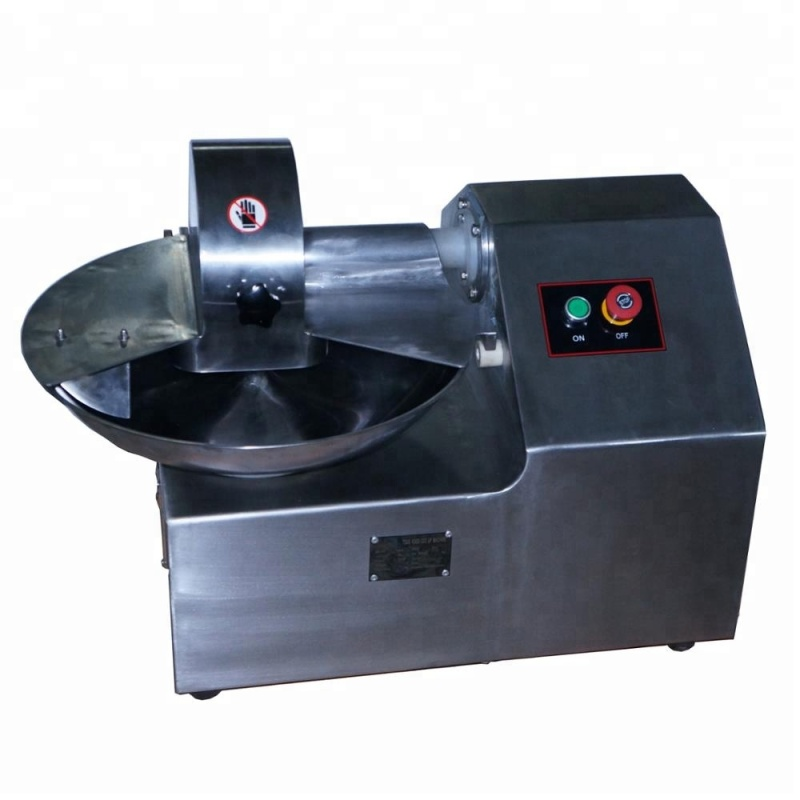 5L Manufacturer Buffalo Beef Vegetable Slicer Mincer Meat Chopper Dicer Bowl Cutter tools Machine