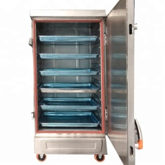 Electric Gas Heating Rice Steamer Food Processing Machinery