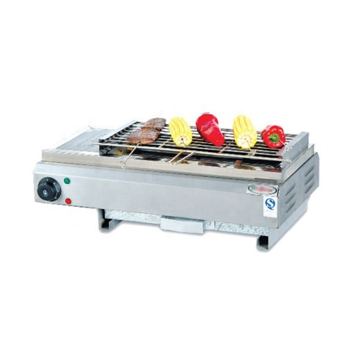 EB-580 Electric smokeless barbecue grill (EB-580) Stainless Steel Electric BBQ Grill