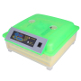 48-Egg Practical Peep Hole Fully Automatic Poultry Incubator (US Standard) Green & Transparent