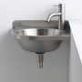 304 Stainless steel Luxury Combination Toilet Bathroom Sink Artificial Resin Hand Wash Basin Decorative