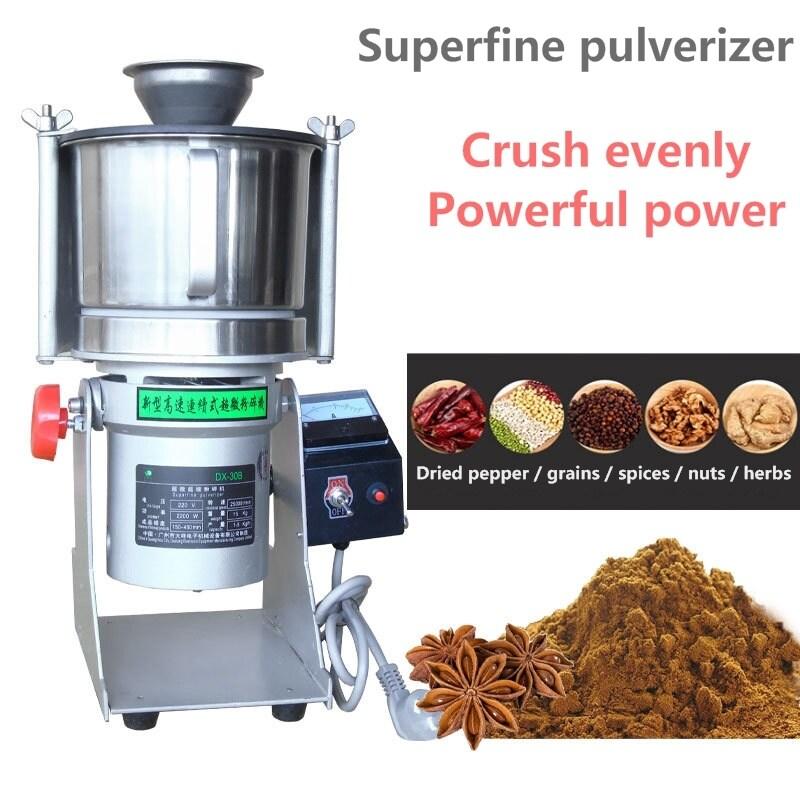 30B Small Medicine Chilli Micro Sugar Pulverizer Superfine Mill Grinding Machine Ore Pearl Wall Breaking Coffee Grinders