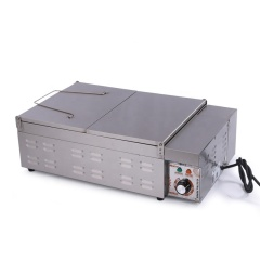 32L Stainless Steel Potato Chips Oil Fryer Churros Electric Deep Open Potatoes Chip French Fryer