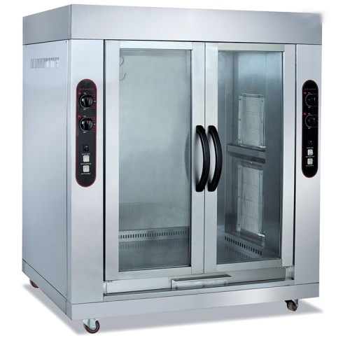 Roasting a Whole Lamb Commercial 2 Double-Door Vertical Gas and Roaster Whole FULL Lamb Baking Oven of Kitchen Equipment