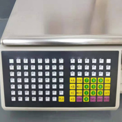 New Arrival 30kg TMA Series Cash Register Scale Electronic Barcode Label Printing Scales For Supermarket