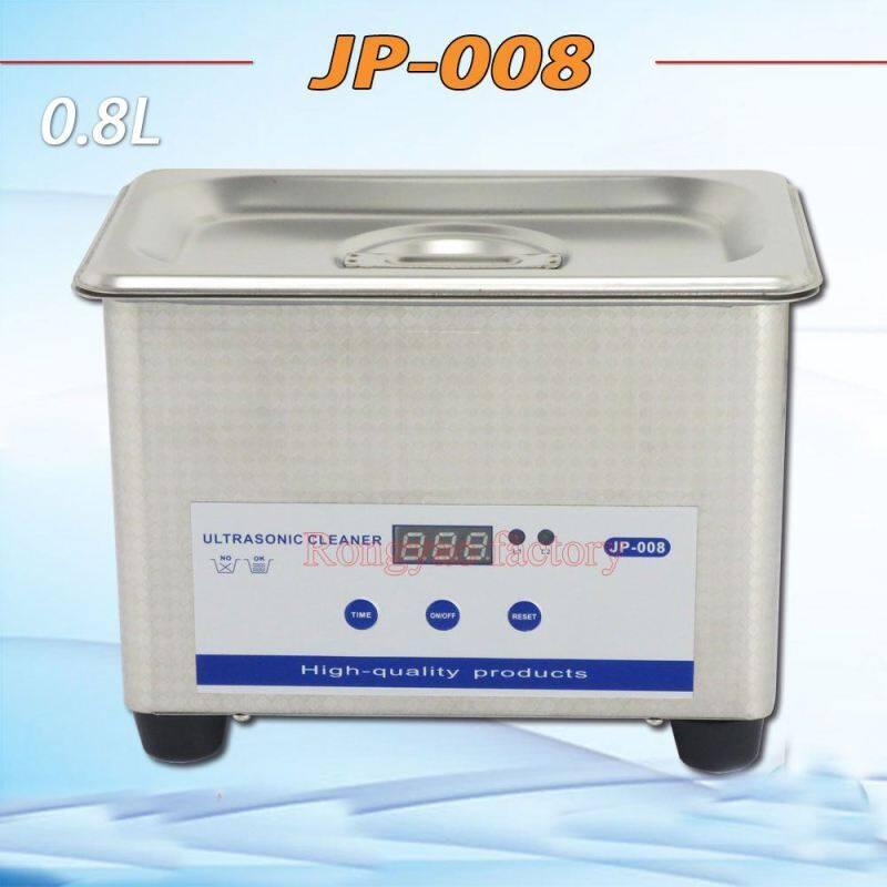 Stainless Steel 0.8L Ultrasonic Cleaner Home Mini Ultrasonic Cleaner Jewellery Glass Printer Head Cleaning Machine