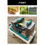 3 Stainless Steel Roller Sugar cane juicer Sugarcane Presser Extractor 800kg/h High efficiency Juicing Machine for sugarcane