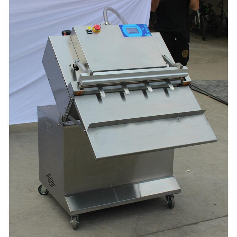 4 Nozzle Nitrogen Filling Snack Food Vacuum Sealer Packaging Machine