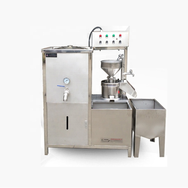 Hot Sale Automatic  Gas heating or Electric heating Commercial Soy Milk Tofu Soybean Bean Curd Forming Making Machine