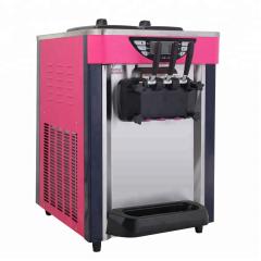 BJ168SD 12-16L/H Countertop Soft Ice Cream Maker Machine for Sale