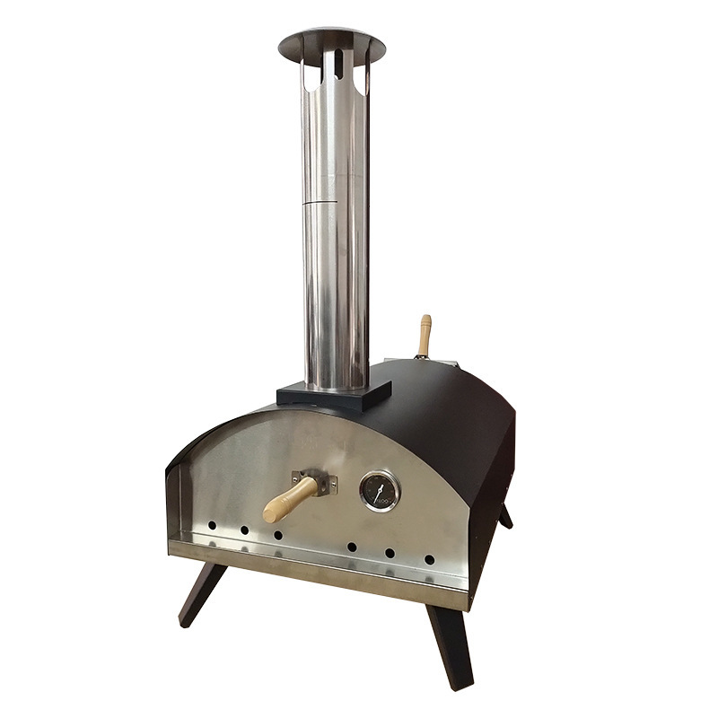 Hot Selling Small Camp Baking Oven Metal Wood Fire Pizza Oven