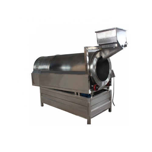Stainless Steel Energy Efficient Fully Automatic Mixing Machine Snack Single Drum Flavoring Machine