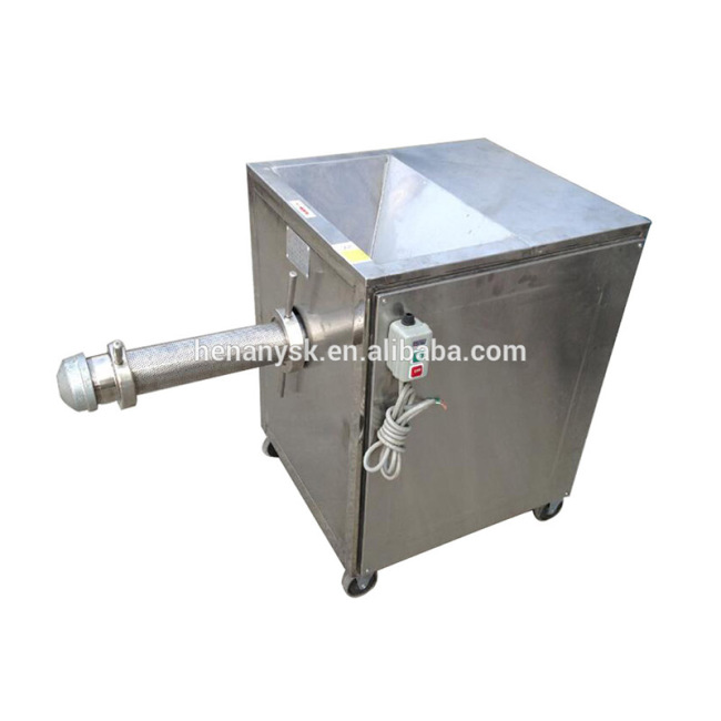 SZJ-300 2017 Hot Fish Meat Bone Separator Filter Mincer