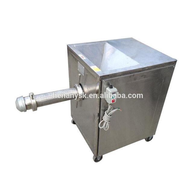 SZJ-300 2017 Hot Fish Meat Bone Separator Filter Mincer