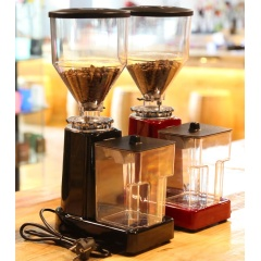 8-Speed Electric Coffee Grinding Machine 19 Adjustable Fineness Coffee Bean Grinder for Household Use