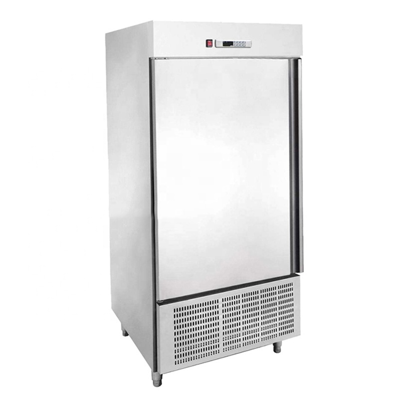 -35 -40 degrees 12 trays Commercial Potato chips Kitchen Chiller Shock Chicken Frozen Blast Freezer for Fish Meat food