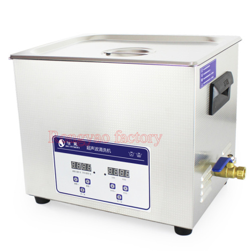 JP-040S 10 L Stainless Steel Smart Digital Ultrasonic Cleaning Machine Oil and Rust Removing Laboratory Cleaner