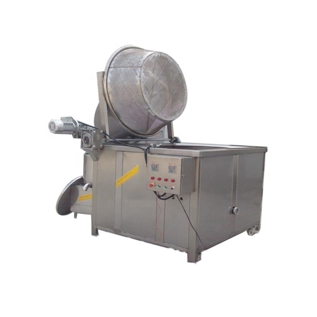 IS-SD-200 Automatic Control Frying Machines Water Oil Body Electric Frying Chicken Fryer