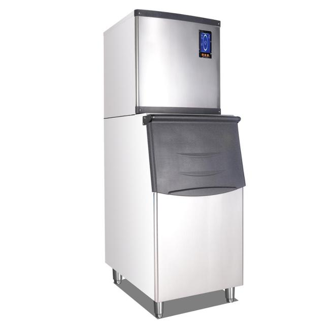 SF250 Commercial Type Ice Cube Maker Ice Maker  Machine for Juicer Bar Equipments