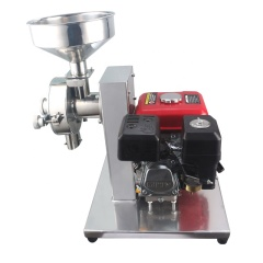 High Quality Stainless Steel Electrical Ignition Gasoline Mill Flow Type Corn Grain Grinder