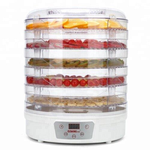 5 Layers Intelligent Plastic Material Food Dehydrator Fruit Dryer Drying Machine