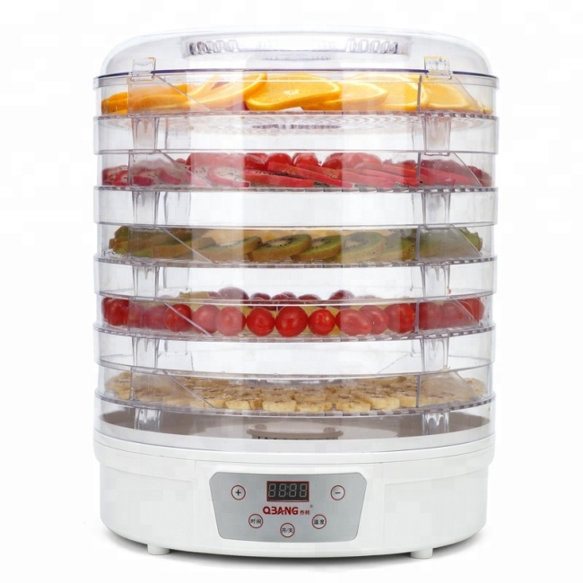 5 Layers Intelligent Plastic Material Food Dehydrator Fruit Dryer Drying Machine