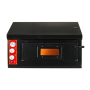 500c electric commercial 2 layers professional pizza baking oven high temperature