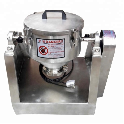 2kg/Time Durable Stainless Steel Chemical Cone Shape Powder Mixer Mixing Machine for Sales
