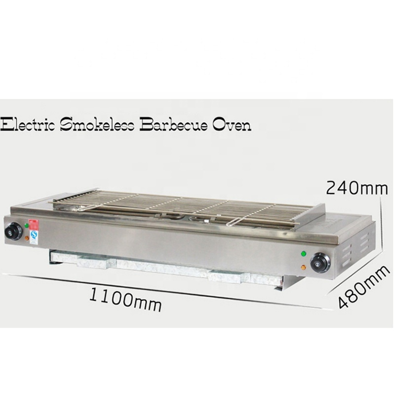 Industrial Electric Bbq Grill Barbecue Easy For Carry For Food EB-220
