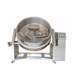 600L High Quality Stainless Steel Quick Uniform Heating Electric Steam Cooking Pot Mamita Machine