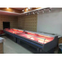 2.5m Fridge Foshan Supermarket Freezer Commercial Meat Deli Display Refrigerator Fridge Open Chiller  Equipment