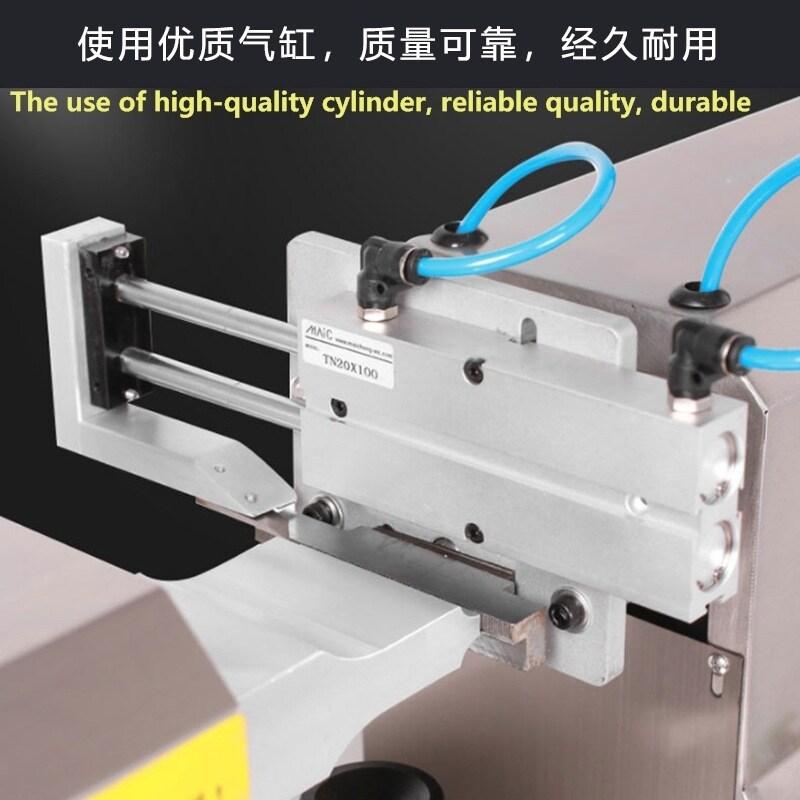 Spot Ultrasonic Hose Tail Sealing Machine Pneumatic Toothpaste Cosmetics Medicine Food Aluminum Plastic Hose Seal Printing