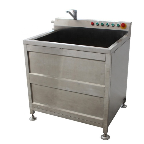 IS-TK-QX100 All Stainless Steel Multi-Function Single-Cylinder Bubble Cleaning Ozone Sterilization Fruit Vegetable Cleaner