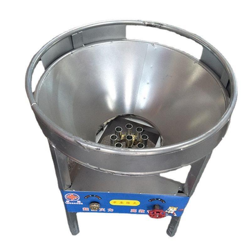 LPG Mobile Banquet Big Pot Stove Gas Range Canteen Medium Pressure Hotel Portable Wok Cooker Catering Burner Vertical Gas Stove