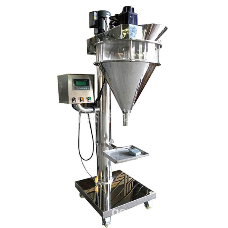 1-2000g SS304 Stainless steel PLC operation 6L Semi-automatic powder filling Filler machine