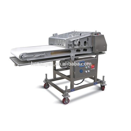Automatic Chicken Breast Flattening Meat Pie Dough Press Making Beef Steak Maker Machine Equipment