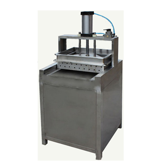 Commercial Hydraulic 1 Single Pan tofu Presser  Soybean Milk Molding Bean Curd Pressing Machine