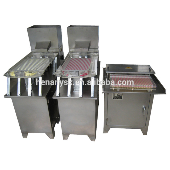 Hot Sale 400 Pcs/Time Manual Capsule Filler Filling Machine