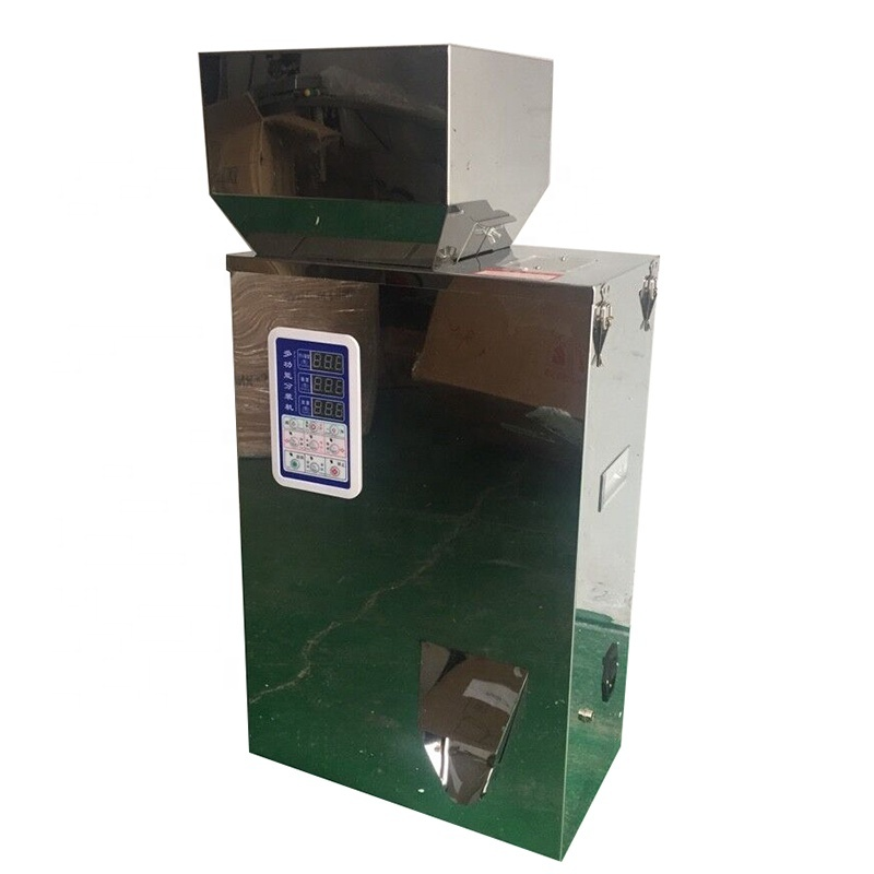 18 Free Ship Automatic Scale Filling Machine Tea Leaf Grain Medicine Seed Salt Rice Packing Machine Sugar Powder dispenser