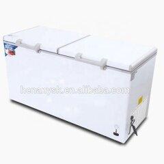 2 Door Commercial Refrigerator Horizontal Single Temperature Freezing Refrigerating Integrated Cabinet