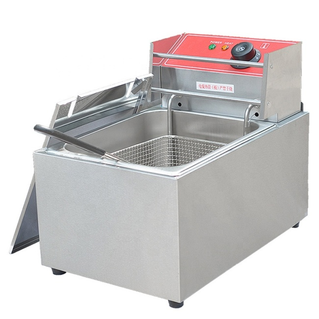Frying Pan Single Electric Fryer Multifunctional Fryer For Many Stuffs